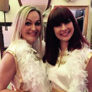 abba stars tribute duo band london